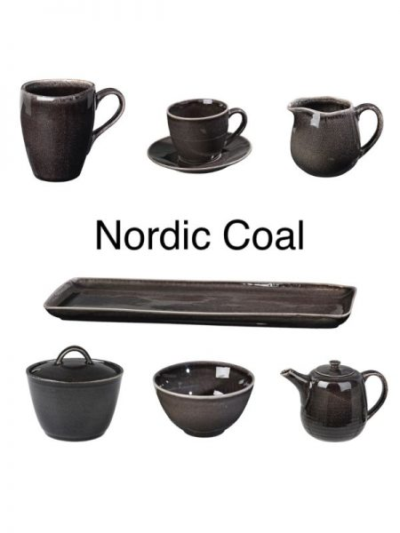 Nordic Coal Stoneware