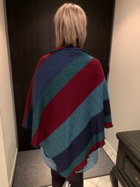 tykt merino uld sjal i flere farver