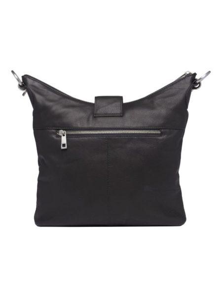 Sort lædertaske fra Tim & Simonsen