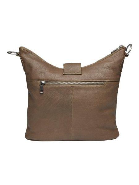 Cross over taske i læder