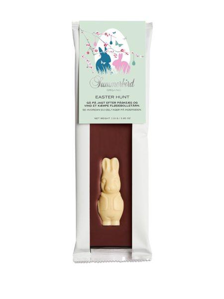Påske Chokoladebar med chokoladekanin
