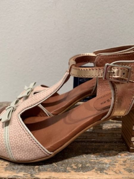 nude sandal fra Nemonic