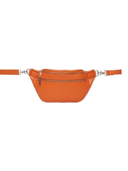 Orange skind bumbag