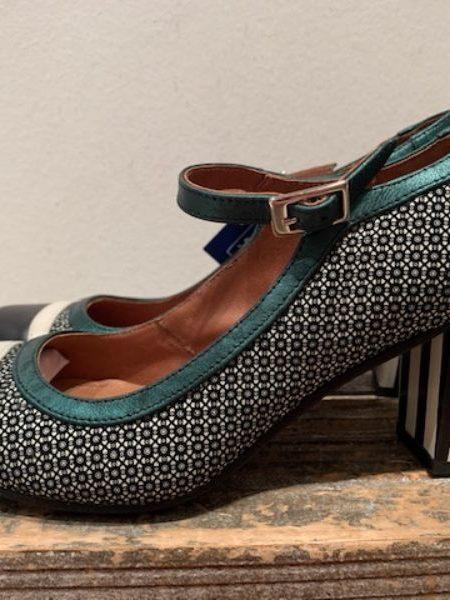 sort/petrol sko fra nemonic