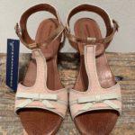 nude sandal i kalveskind