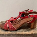 rød sandal SS19