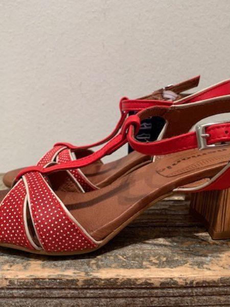 rød sandal fra nemonic