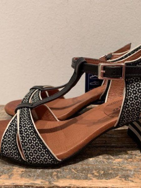Sort adriana sandal fra nemonic