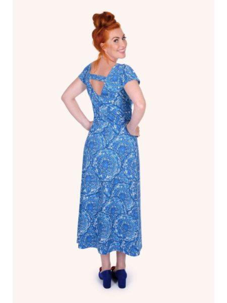 Flot blå sommerkjole fra Margot