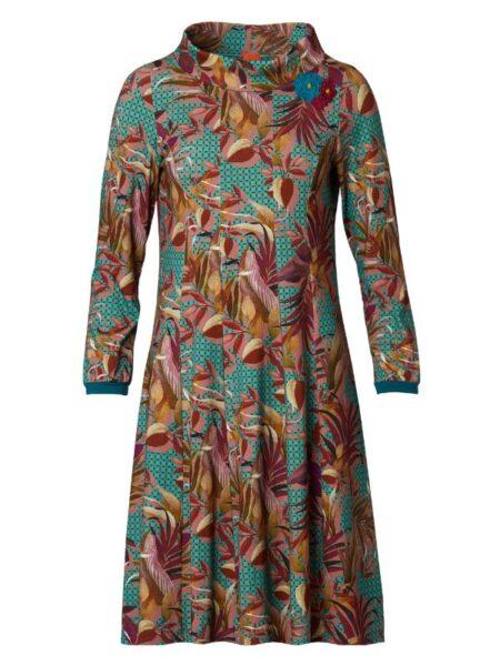 Flotte efterårsfarver sammensat i en Ninna kjole fra du Milde