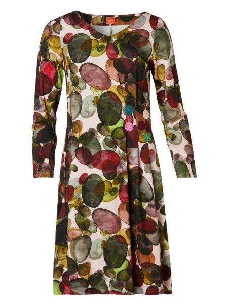 Flot farverig kjole fra du Milde