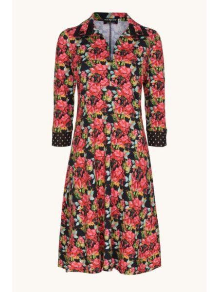 Lyserød blomstret kjole fra Margot