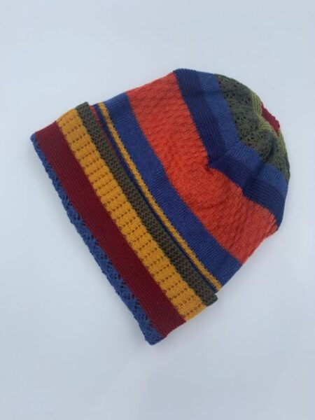 Hue merino uld i klare efterårsfarver