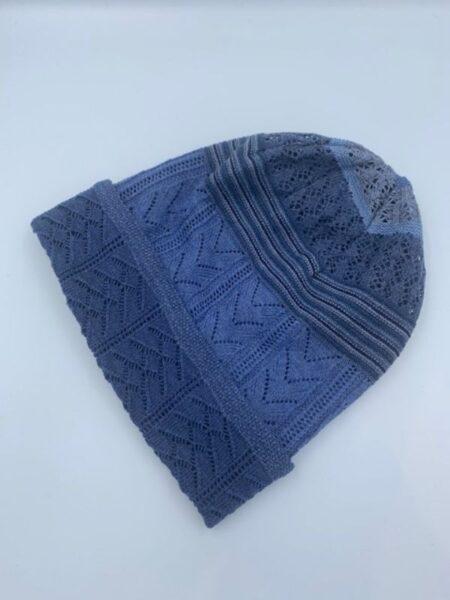 Hue merino uld lysere blå farver