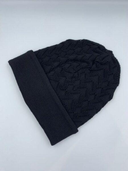 sort hue i merino uld