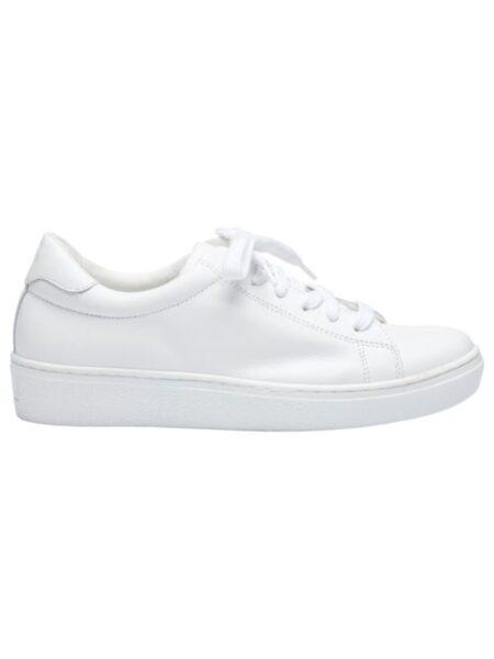 Hvide sko i kalveskind
