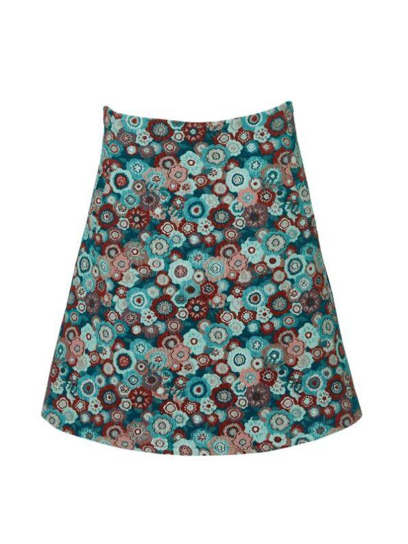 textyil tyk og blød nederdel i A facon