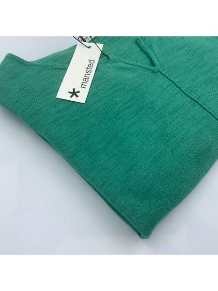 Grøn strikkjole fra Mansted