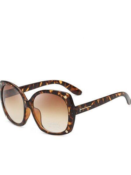Solbriller med leopard stel