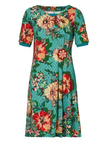 blomstret kjole fra du Milde
