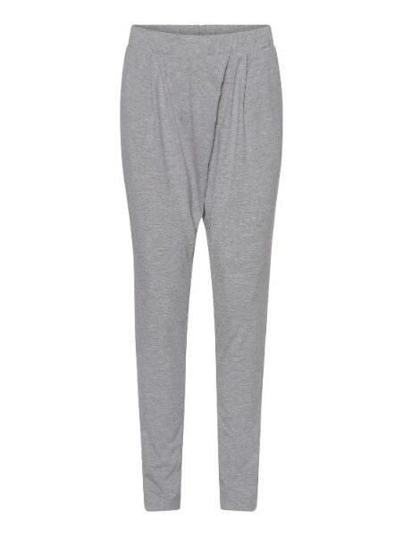 grå bløde bukser i bambus