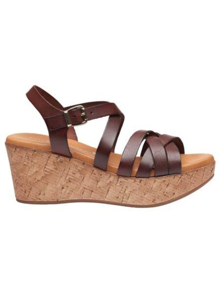 sandal med kalveskind