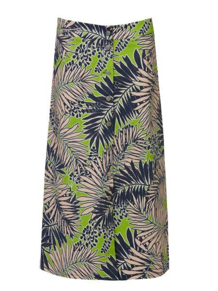 lang nederdel i sommerfrsike farver