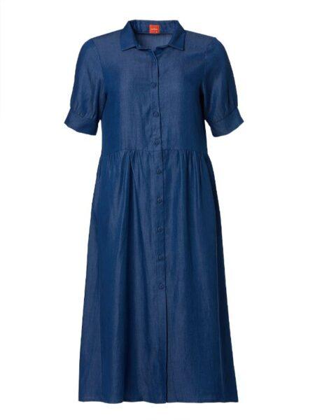 løs denim kjole
