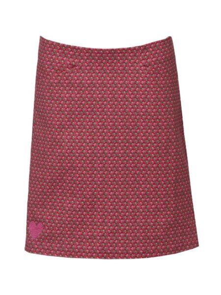 pink nederdel i let A form