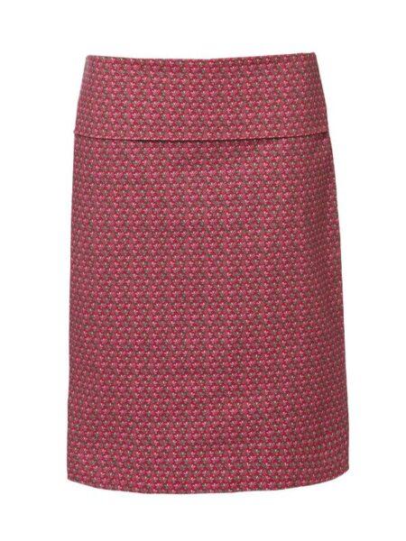 pink nederdel med detaljer