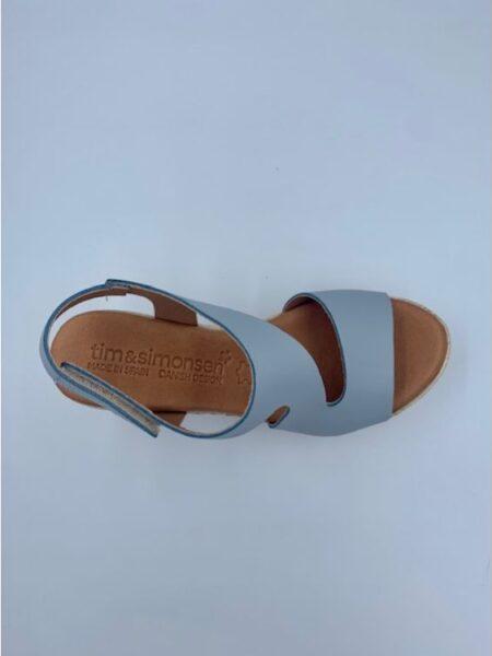 sandal med plateau